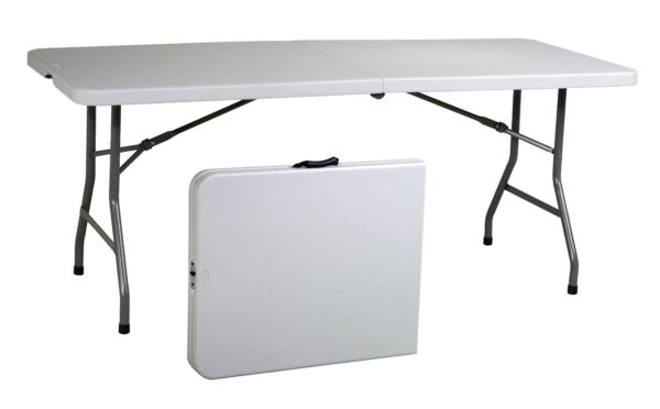 6 Foot Folding Table In Store Pickup Only