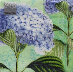 Hydrangea Decorative Napkins - 20 ct