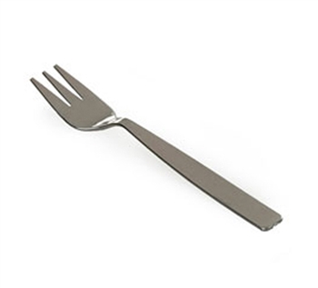 Mini Silver Plastic Forks, 30 Pack - Small Mini-Ware Serving Dishes