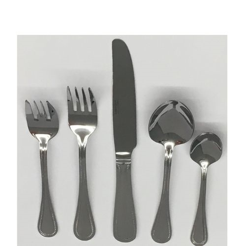 20pc Cutlery Set in Euro Bead Service for 4