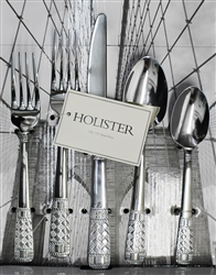 Metropolitan by Holister - Grecian Weave 20 Piece Flatware Set, Service for 4
