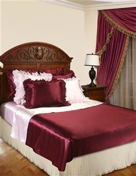 Luxurious Bed Ruffle