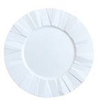 "11"" Crinkle Collection Disposable Party Plates"