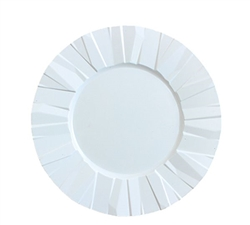 "9"" Crinkle Collection Disposable Party Plates"