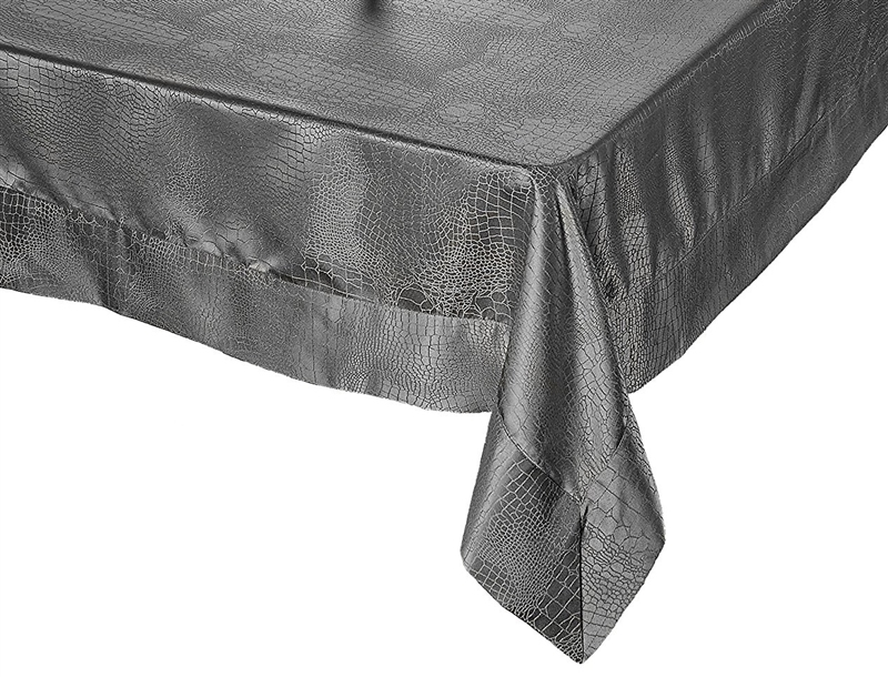 Crocodile Damask Tablecloth By Violet Linen   Available In White Or Gold,  Vintage Table Linen
