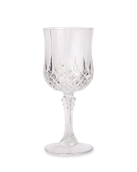Crystal Effect Plastic Wine Glass They Look Like Real