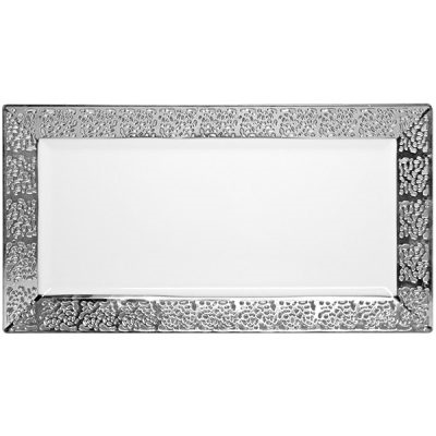 White Inspiration Collection Tray - 2 pack