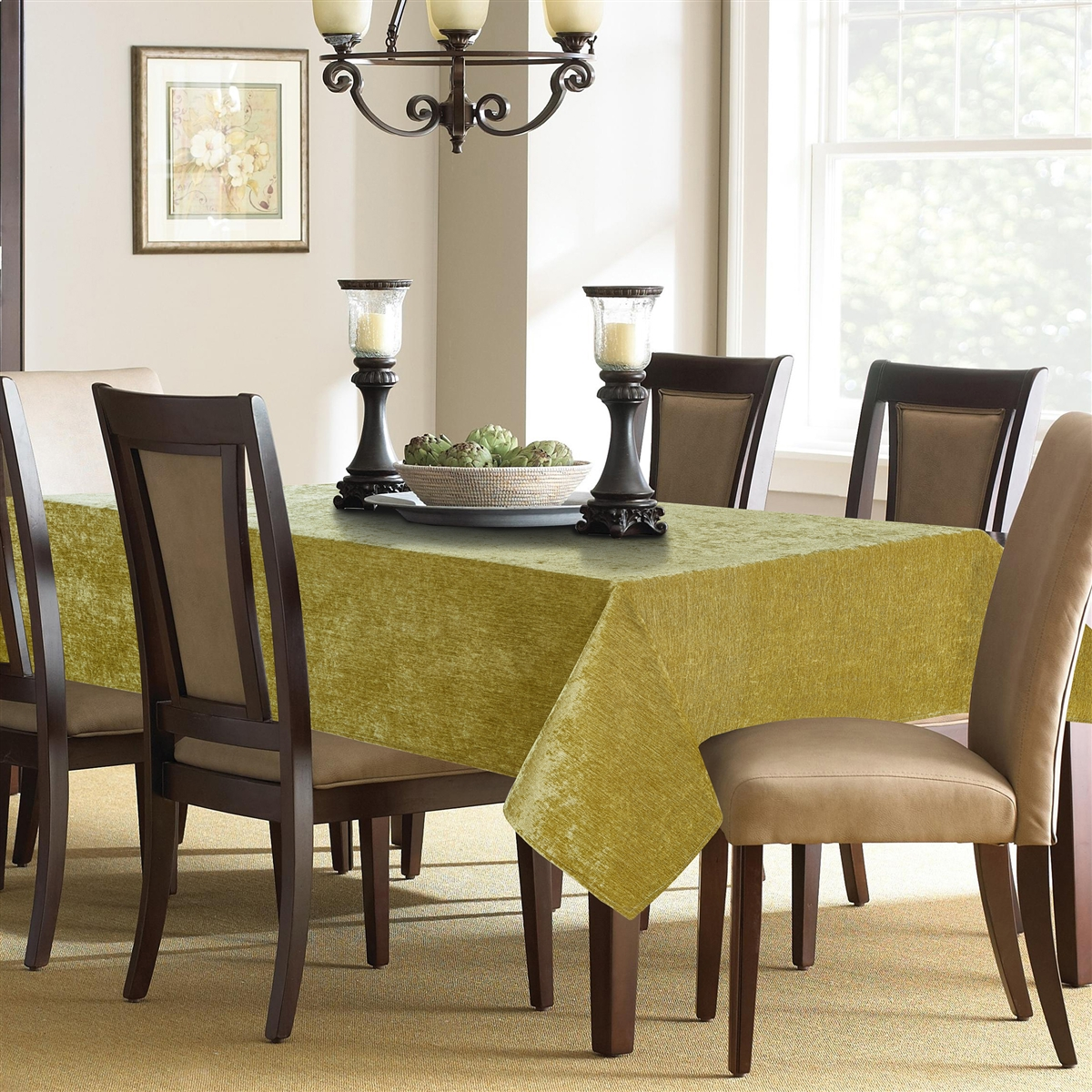 Jardin Chenille Tablecloth