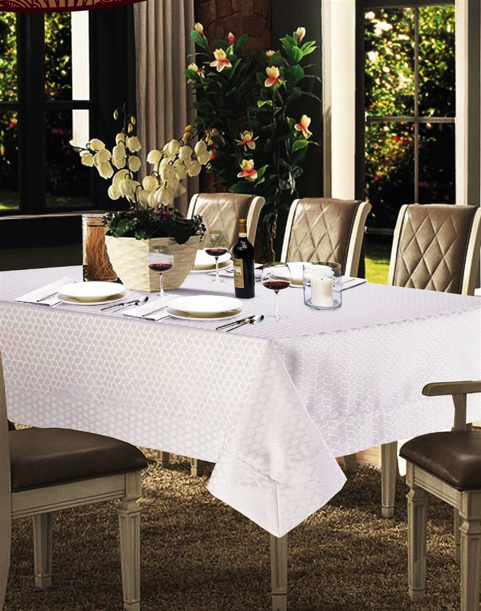 Laurel Spill Proof Tablecloth