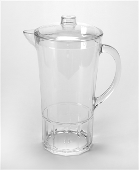 Large Acrylic Crystal Pitcher