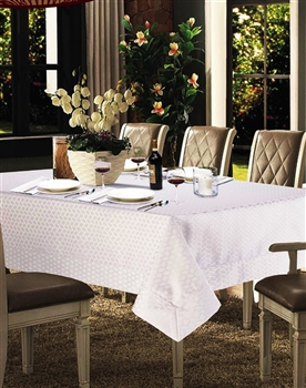 Laurel Spill Proof Tablecloth | Discounts on Luxury Tablecloths