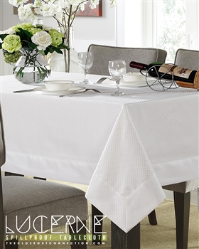 Lucerne Spill Proof Tablecloth | Discounts on Luxury Tablecloths