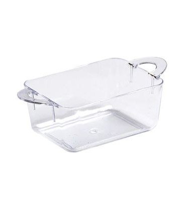 Mini-Ware Clear Plastic Oblong Dish
