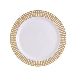 "9"" Signature Collection High quality Plastic Plates 10 count"