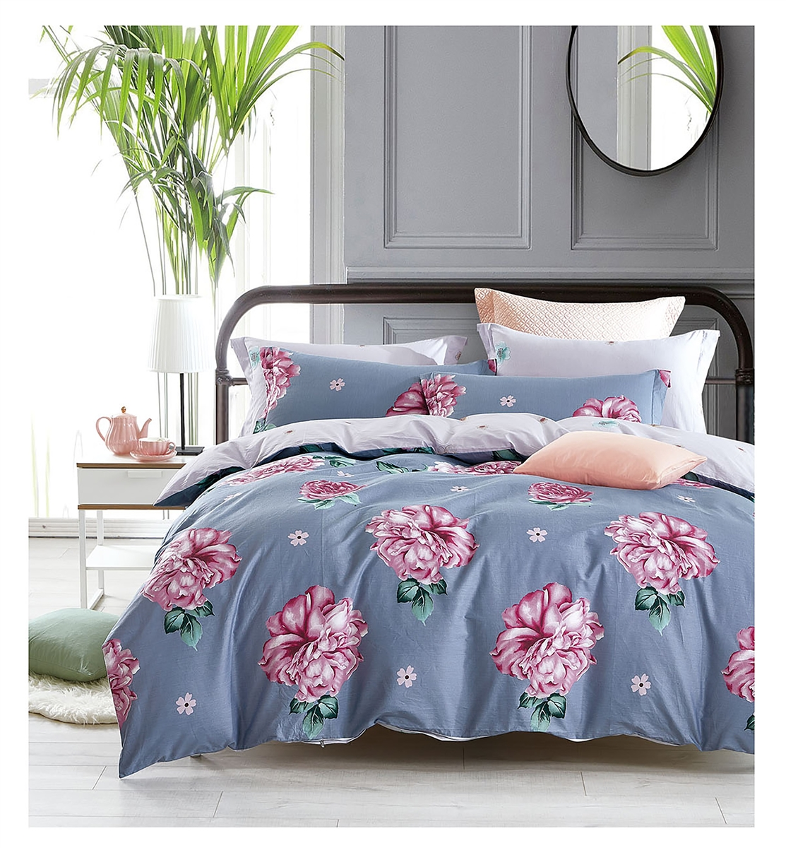 Sensations 8PC 100% Cotton Bedding Set