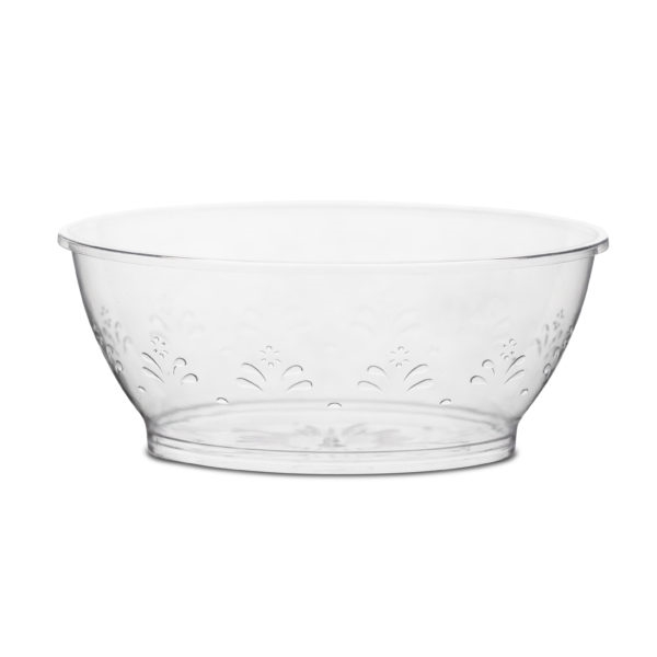 6oz Disposable Plastic Bowls by Simcha Collection 240 Count