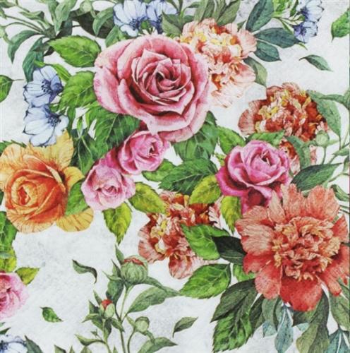 Anna Decorative Napkins - 7 ct