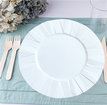 Crinkle Collection & Elegant Disposable Plastic Plates \u0026 Bowls for Weddings \u0026 Events