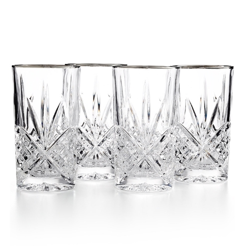 Dublin Crystal Highball Glasses, Discount Crystal Glassware