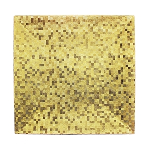 Square Gold Mosaic Charger Placemat - Luxury Table Décor