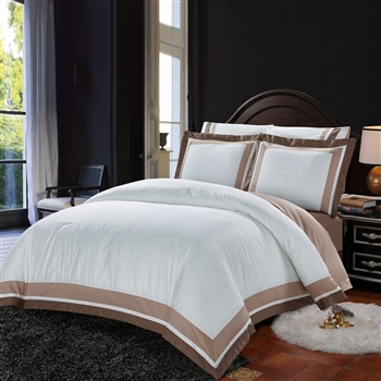 Hotel Collection 8PC 100% Satin Cotton Bedding Set