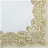 Lace Frame Decorative Napkins - 20 ct