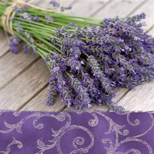 Lavender in the Country Decorative Napkins - 20 ct