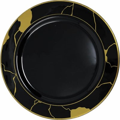 Decor Marble Collection Black and Gold